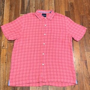 Tommy Bahama silk blend shirt
